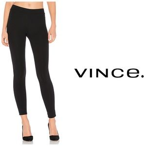 Vince Black Ponte Leggings